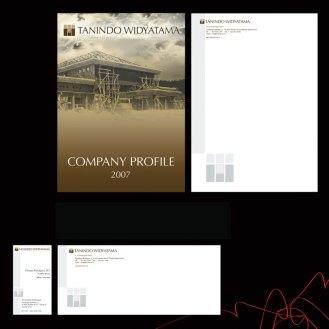 Tanindo Widyatama Corporate Identity Kit