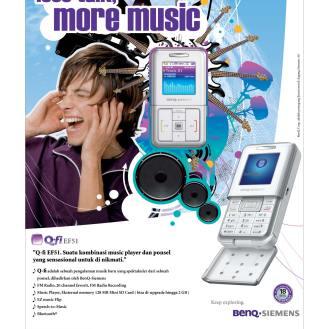 BenQ-Siemens Print Ad